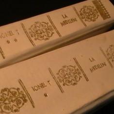 IONEL TEODOREANU- LA MEDELENI- 3 VOL- COL. LYCEUM-PERGAMOID ALB-, Alta editura