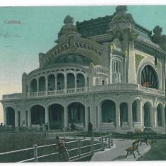 4709 - CONSTANTA, Cazinoul, Romania - old postcard - used - 1911