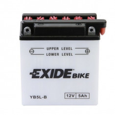 Yuasa baterie scuter maxiscuter moto YB5L-B 120x60x130 12 V 5 Ah 60A Honda MBX