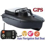 Barca pescuit si plantat momeala cu telecomanda si GPS, navomodel JABO 20AG