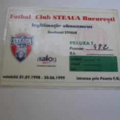 Steaua Bucuresti (abonament sezon 1998-1998)