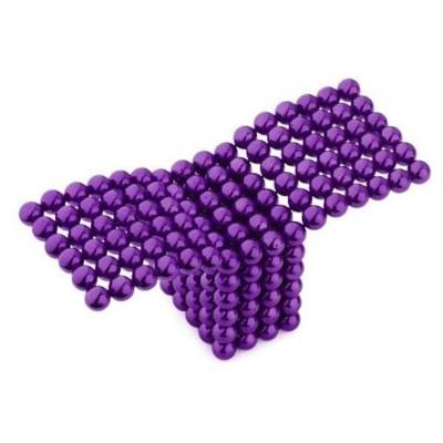 Neocube 216 bile magnetice 5mm, joc puzzle, culoare mov foto