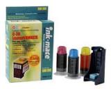 Kit complet de refil cerneala color cartuse originale Lexmark 80 85 60 19 20 25