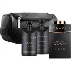 Man In Black EDP 100 ml, AS 75 ml, SG 75 ml, Pouch Set Barbati, Bvlgari