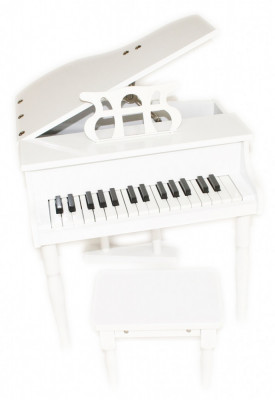 Pian copii + scaun format mini instrument jucarie muzicala foto
