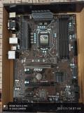 Kit-Mining-Crypto +Placa +procesor+cooler-socket 1151, Pentru INTEL, LGA 1151, DDR4, Msi