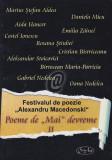 Festivalul de poezie Alexandru Macedonski - Poeme de Mai devreme, II