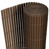 Cumpara ieftin Gard opac - protectie vizuala din PVC 200 x 300 cm maro