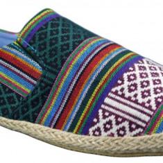 Espadrile SOLE II - Multicolor Vintage V, 40, 41