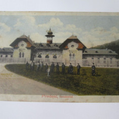 Predeal-Sanatoriul,carte postala circulata 1920