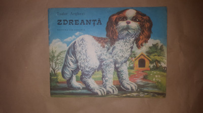 Zdreanta 12pagini/ilustratii/an1982- Tudor Arghezi foto