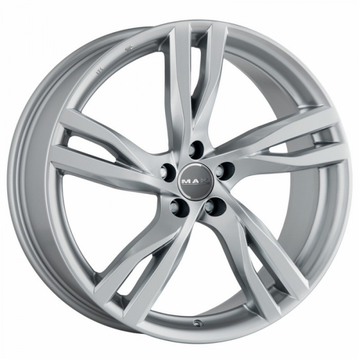 Jante VOLVO V40 Cross Country 8J x 19 Inch 5X108 et42.5 - Mak Stockholm Silver - pret / buc