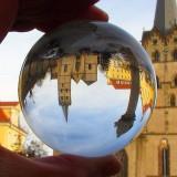 Lensball / Sferă de sticlă 70mm