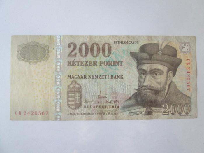 Ungaria 2000 Forint 2010