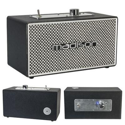 Boxa bluetooth Madison, model vintage, Bluetooth 4.1, baterie incporporata, MP3, 15 W foto