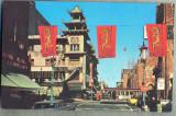 AD 758 C. P. VECHE - SAN FRANCISCO CHINATOWN -STATELE UNITE ALE AMERICII