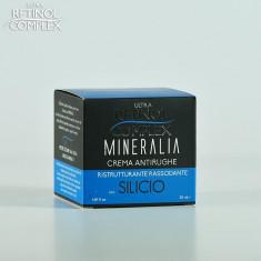 Crema antirid cu SILICIU Restructurant cu efect de fermitate Mineralia 50 ml