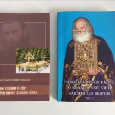 * Lot 2 carti ortodoxe, Justin Parvu si Arsenie Boca