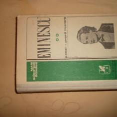 Poezii - Proza literara / Mihai Eminescu