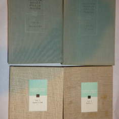 FILOSOFIA GREACA PANA LA PLATON 4 VOLUME / VOL.1 PARTEA 1+2 // VOL.2 PARTEA 1+2
