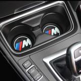 Cumpara ieftin Set 2 x Pad Silicon Antialunecare Suport Pahare BMW M 7.2cm