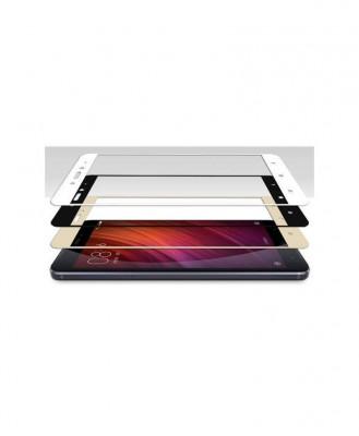 Geam Soc Protector Full LCD 4D LG K10 (2017) LG X400, LG M250N Alb foto
