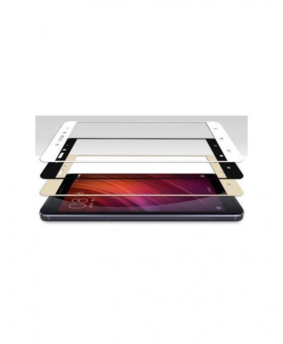 Geam Soc Protector Full LCD 4D Samsung Galaxy J3 (2017) J330 Alb