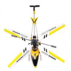 Elicopter cu telecomanda Gyrostar, 20cm, galben