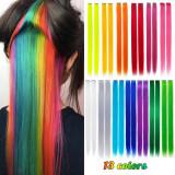 Extensii colorate par peruca mese prindere clip fibra - Fuchsia