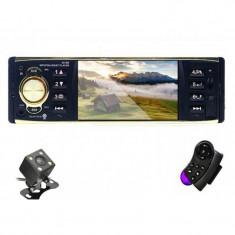 "Radio Auto MP5 Player Auto N2052-S Smart 1DIN cu Display 4"", Bluetooth, Camera Marsarier cu IR si Comenzi pe Volan"