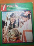 Femeia aprilie 1983-borangic de telorman,,visanii brailei,moda si idei practice