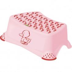 Inaltator pentru baie Little Duck Lulabi, antiderapant, roz