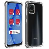 Husa de protectie antisoc pentru Huawei P40 Lite, AKASHI REINFORCED, Transparent