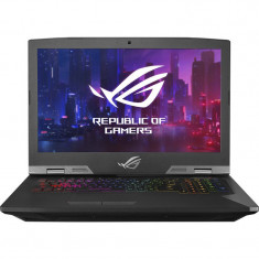 Laptop Gaming ASUS ROG G703GXR, 17.3 FHD,Intel Core i7-9750H, 32GB, 1TB HDD + 512GB SSD, GeForce RTX 2080 8GB, Windows 10 Home, Titanium Gray