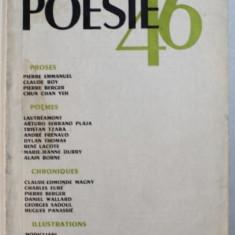 POESIE 46 - REVUE MENSUELLE DES LETTRES , NO . 30 , FEVRIER - MARS , 1946