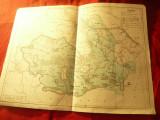 Harta istorica- Desfasurarea Insurectiei Nationale Antifascista si Antiimperial.