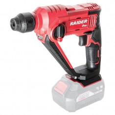 Ciocan rotopercutor Raider, 900 rpm, 5000 percutii/min, 1.2 J, mandrina SDS-plus, viteza variabila, LED