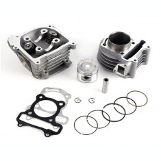 Kit Cilindru Set Motor + Chiuloasa Scuter Rieju Paseo 4T 80cc 47mm