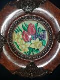 Vand goblen cu flori