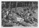 D410 Fotografie elevi militari romani artilerie al doilea razboi mondial