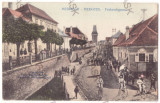 4471 - MEDIAS, Sibiu, Bike, Velociped, Romania - old postcard - used - 1916, Circulata, Printata