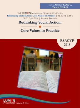 Rethinking Social Action. Core Values in Practice. RSACVP 2018 - Antonio SANDU, Tomita CIULEI (editori) foto