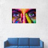 Tablou Canvas, Pictura pe fata - 80 x 120 cm