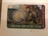 moneda BELGIA 2 euro comemorativa 2019_P. BRUEGHEL, coin card