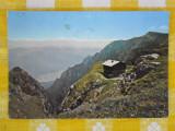 Muntii Bucegi - Cabana Caraiman - vedere circulata 1966
