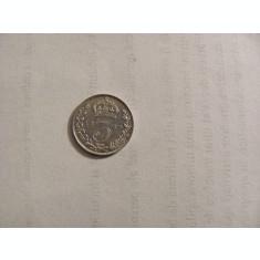 CY - 3 pence 1889 Marea Britanie / superba