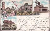 Salutări din Târgoviște și Pucioasa_circulată la Topolovățu Mare 1899, Circulata, Printata