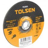 Disc abraziv cu centru coborat Tolsen, 230 x 6 x 22 mm
