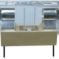Soclu pentru sigurante 5x20mm, cu capac de protectie, pentru PCB - 122530