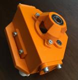 Sablon mobila din plastic dur portocaliu pt balamale 35mm model 3.0